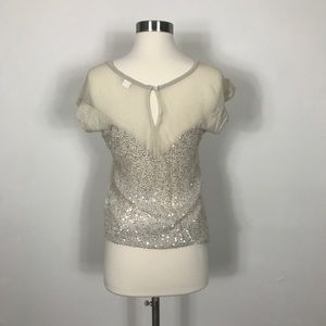 Threads for Thought Sequin Back Shirt